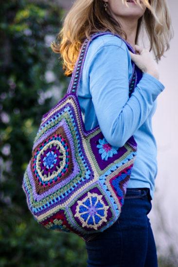 Improvised Crocheted Bag