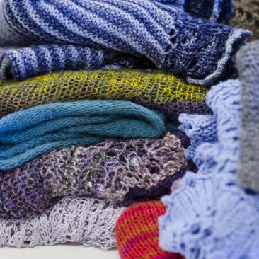 Knitting Shawls of Many Shapes