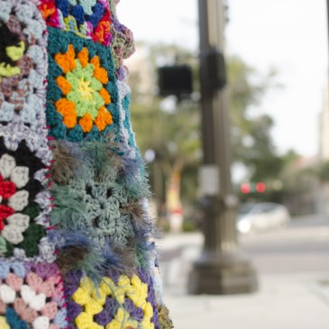 Photographing the Craft Art Yarn Bombing