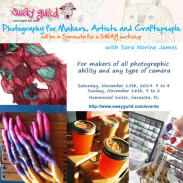 Photography for makers Two day intensive