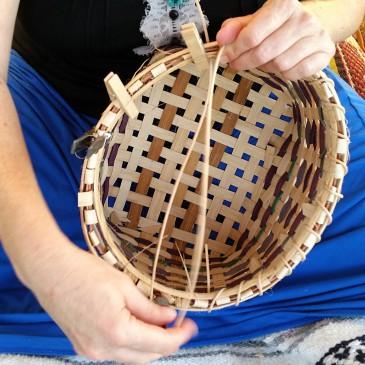 Basket Weaving Campout